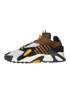 Shop adidas Originals Streetball Mens Sneaker Core Black Orange at Side Step Online