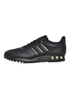 Shop adidas Originals LA Trainer Sneaker Mens Black Gold at Side Step Online