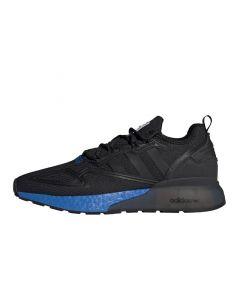 Shop adidas Originals ZX 2K Boost Mens Sneaker Core Black Glow Blue at Side Step Online