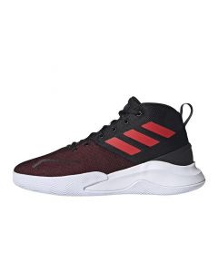 Shop adidas Performance OwnThe Game Mens Sneaker Black Red at Side Step Online