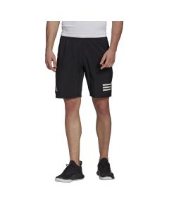 Shop adidas Performance Club 3-Stripes Mens Shorts Black White at Side Step Online