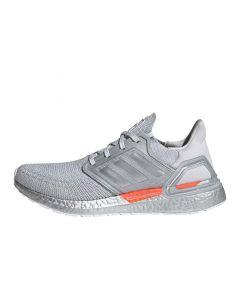 Shop adidas Performance Ultraboost 20 DNA NASA Mens Sneaker Grey Silver Metallic at Side Step Online