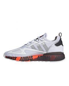 Shop adidas Originals ZX 2K Boost Men White Silver Metallic at Side Step Online