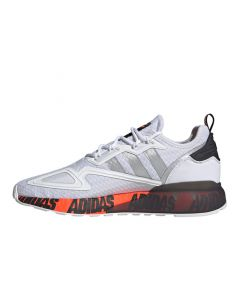 Shop adidas Originals ZX 2K Boost Sneaker Mens White Silver at Side Step Online