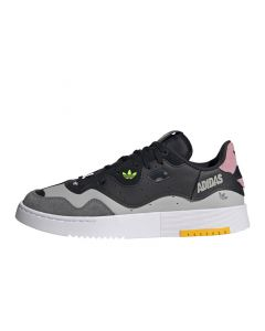 Shop adidas Originals Supercourt Style Womens Black Pink at Side Step Online