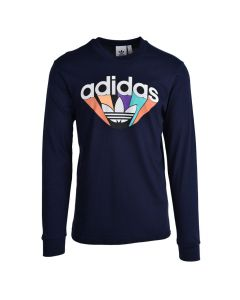 Shop adidas Originals Shirt Mens Ink Blue at Side Step Online