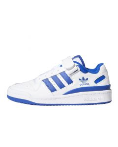 Shop adidas Forum Lo Youth Sneaker Cloud White Royal Blue at Side Step Online