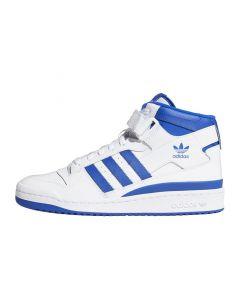 Shop adidas Originals Forum Mid Mens Sneaker White Royal Blue at Side Step Online