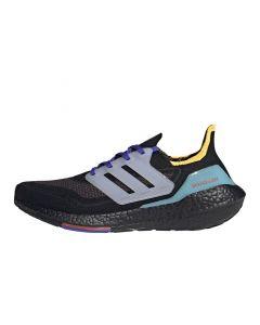 Shop adidas Performance Ultraboost 21 Sneaker Mens Core Black Pulse Aqua at Side Step Online