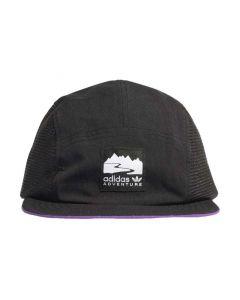 Shop adidas Originals Adventure Runners Cap Black Glory Purple at Side Step Online