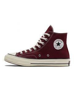 Shop Converse Chuck Taylor '70 Hi Mens Sneaker Deep Bordeaux Egret Black at Side Step Online