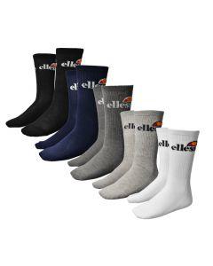 Shop ellesse 5 Pack Mens Crew Socks Multi at Side Step Online