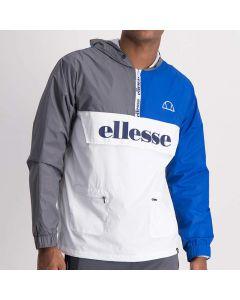 Shop ellesse Contrast Colour Flip Tracksuit Mens Nautic Blue at Side Step Online