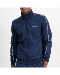 Shop ellesse Piping Detail Tracksuit Top Men Dress Blue White at Side Step Online