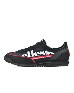 Shop ellesse Monza 2 Mens Jet Black Scarlet White at Side Step Online