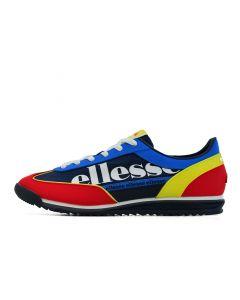 Shop ellesse Monza 2 Mens Dark Blue Red Yellow at Side Step Online