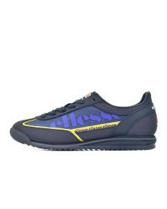 Shop ellesse Monza 2 Mens Dress Blue Yellow Blue at Side Step Online