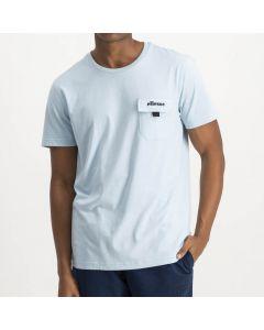 Shop ellesse Pocket Single Jersey T-shirt Mens Star Blue Black at Side Step Online
