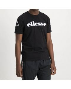 Shop ellesse Bold Print Logo T-shirt Mens Black White at Side Step Online