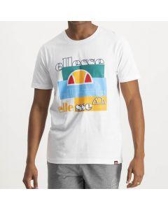 Shop ellesse Iconic T-shirt Mens White at Side Step Online