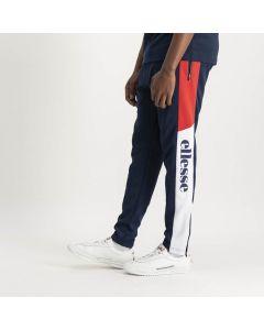 Shop ellesse Side Leg Panel Track Pants Mens Dress Blue Scarlet White at Side Step Online