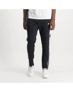 Shop ellesse Panel Track Pants Mens Jet Black White Charcoal at Side Step Online