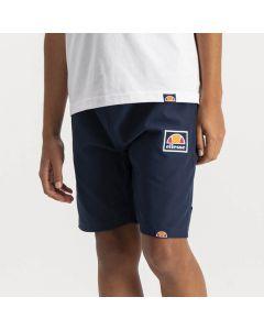 Shop ellesse Core Box Logo Shorts Youth Dress Blue at Side Step Online
