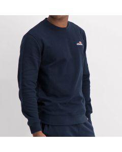 Shop ellesse Sweater Small Chest Embroidered Logo Men Dress Blue at Side Step Online