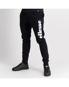 Shop ellesse Cuffed Leg Side Applique Pants Men Black at Side Step Online