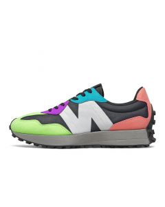 Shop New Balance 327 Mens Sneaker Black Multi at Side Step Online