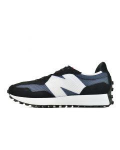 Shop New Balance 327 Mens Sneaker Black White at Side Step Online