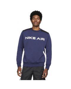 Shop Nike Air Fleece Sweater Mens Navy Black White at Side Step Online