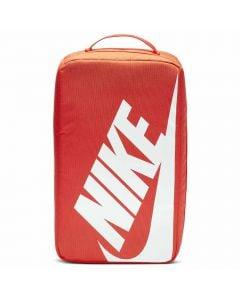Shop Nike Shoebox Bag Orange White at Side Step Online