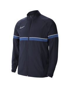 Shop Nike Dri-FIT Academy 21 Woven Track Jacket Mens Navy at Side Step Online