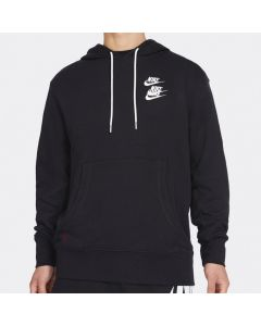 Shop Nike Pullover French Terry Worldtour Hoodie Mens Black at Side Step Online