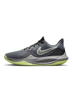 Shop Nike Precision 5 Basketball Mens Sneaker Iron Grey at Side Step Online