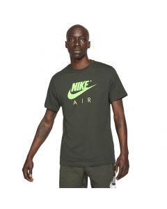 Shop Nike Air GX HBR T-Shirt Mens Sequoia Green at Side Step Online