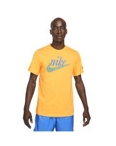 Shop Nike Swoosh 50 HBR T-shirt Mens Gold at Side Step Online