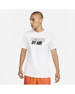 Shop Nike Swoosh By Air GX3 Mens T-Shirt White at Side Step Online