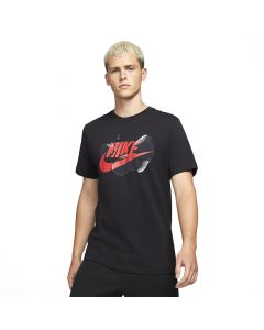 Shop Nike Futura Seasonal T-shirt Mens Black at Side Step Online