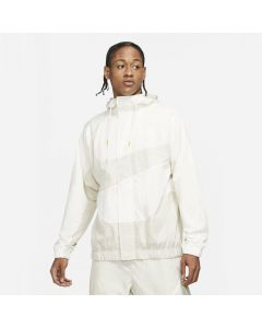 Shop Nike Sportswear Swoosh Woven Lined Jacket Mens Sail at Side Step Online