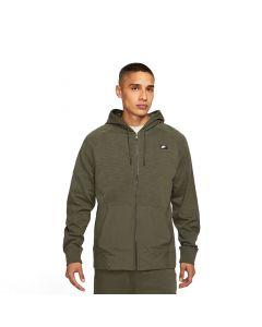 Shop Nike Full-Zip Lightweight Essential Hoodie Mens Khaki at Side Step Online