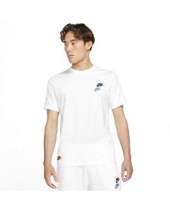 Shop Nike Club Essentials T-Shirt Mens White at Side Step Online