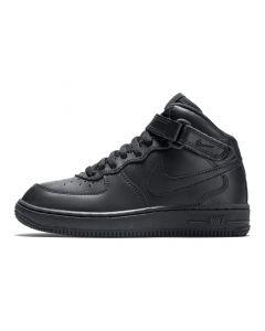 Shop Nike Air Force 1 Mid Kids Sneaker Black Black at Side Step Online