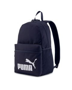 Shop Puma Phase Backpack Navy White at Side Step Online