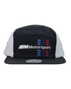 PMA2208B-PUMA-BMW-5-PANEL-FLAT-CAP-BLACK-02294301-V1