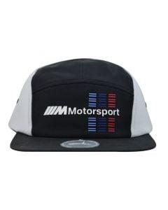 Shop Puma BMW M Motorsport 5Panel Flat Cap Black at Side Step Online