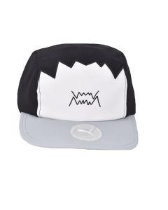 Shop Puma Basketball 5 Panel Cap Black at Side Step Online