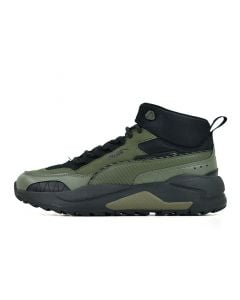 Shop Puma X-Ray 2 Square Mid Mens WTR Forest Night Black at Side Step Online