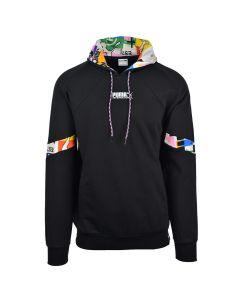 Shop Puma Intl Hoodie Mens Black at Side Step Online